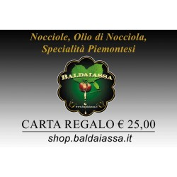 Cadeaubon Baldaiassa € 25,00