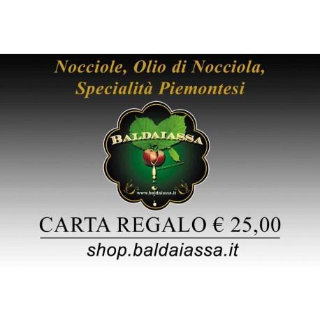 Gift Card Baldaiassa € 25,00