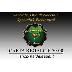 Carta Regalo Baldaiassa € 50,00