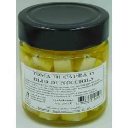 Toma di Capra in Olio di Nocciola - Vaso 200 g