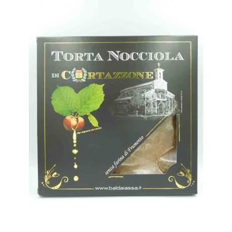 Gâteau de Noisettes de Cortazzone sans farine de blé - Boîte cadeau
