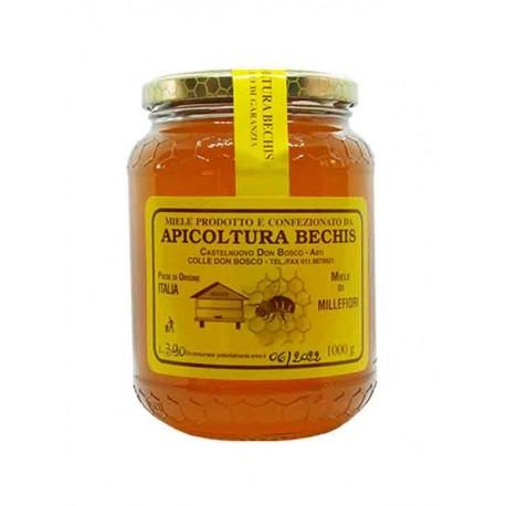 Miele Millefiori Italiano - Vaso 1 Kg