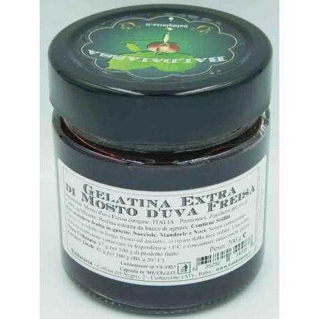 Gelatina Extra di Mosto d'Uva Freisa - Vaso 200 g