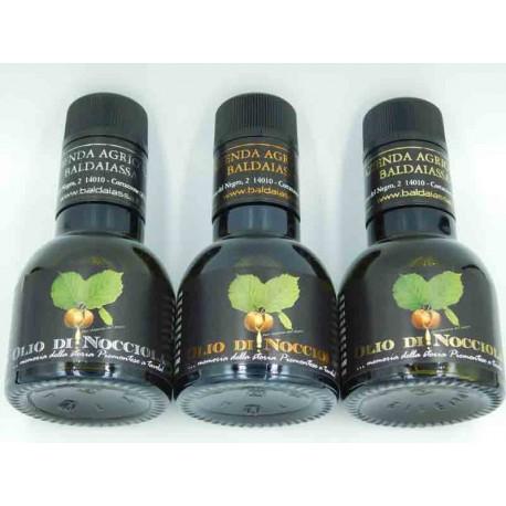 Haselnussöl - Drei Verkostungen 100 ml